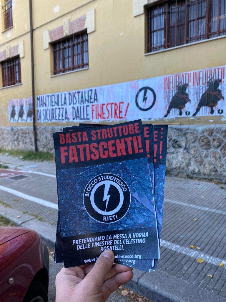 blocco studentesco rieti 4 ottobre mantieni la distanza dalle finestre 8